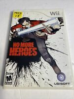 No More Heroes (Nintendo Wii, 2008) Video Game - Rare, Complete