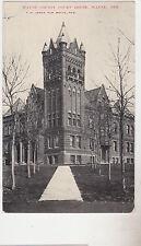 Wayne,Nebraska,Wayne County Court House,Used,1908
