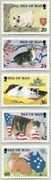 IOM 14 MARCH 1996 MANX CATS SET OF ALL 5 PHQ CARDS No. 17 MINT / UNUSED