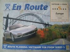 """Psion Series 5 5mx """"En Route"""" with 40 Maps European Multilingual Street Planning"""