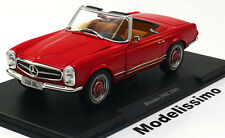 1:24 White Box Mercedes 230 SL W113 Convertible 1965 red