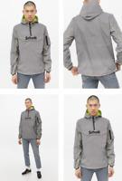 RRP - £125.00 Schott Men's Hudson Reflective Jacket, Silver, Size L