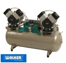Dentalkompressor Kompressor ölfrei EKOM DK50 2x2V/110 in Laborqualität - NEU