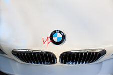 CARBON FIBER PINK Roundel Emblem Overlay Decal Sticker FITS BMW HOOD TRUNK