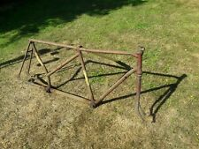 EARLY CLAUD BUTLER SHORT WHEELBASE VINTAGE BICYCLE TANDEM FRAME. DAMAGED