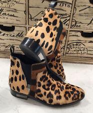 Christian Dior Leopard Cheetah Pony Hair Ankle Boots. 38.5EUR 8 - 8.5US