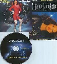 Dee D.JACKSON-THUNDER & LIGHTNING-ITALY-REM. IN 2011-DDE RECORDS EYS 033-CD-M-