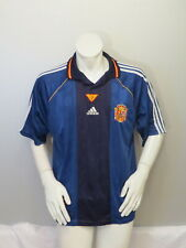 Team Spain Jersey - 1999 Alternate Away Jersey by Adidas - Men's Extra Large