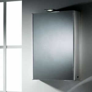 Roper Rhodes Fever Illuminated Mirror Cabinet with Demister Pad AS251