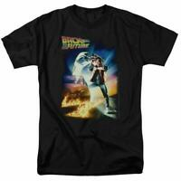 Back to The Future Marty McFly Men's T Shirt Black