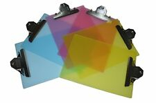 "6 Pack Standard Size Plastic Clipboard 12.5""x9"" (2 Pink,2 Yellow,2 Blue)"