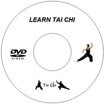 LEARN TAI CHI CD/DVD BEGINNERS GUIDE GENTLE EXERCISE RELAXATION PEACE MEDITATION