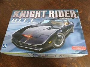 Aoshima Knight Rider w/ LED SCANNER season 4 KITT model kit 1/24 008003 04128