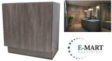 "30"" European Style Bathroom Vanity Plywood Door Cabinet Walnut Wood pattern"