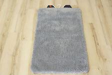 Tappeto da bagno uni grigio 60x100cm soffice