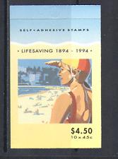 Australia 1994 SALVAVITA/Salvataggio 10v S/A bklt (n14765)
