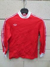VINTAGE Maillot ADIDAS rouge ULTRON Ventex années 70 shirt XS