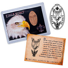 BSA Eagle Scout Elongated Coin Trading Card