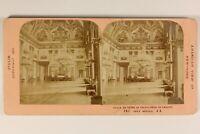 Italia Napoli Palais Royal Da Caserta Foto Jean Andrieu Stereo Albumina