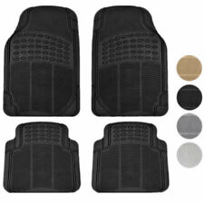New 4pc Premium All Weather HD CAR Rubber Floor Mats Liner set for Import Cars