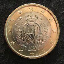 SAN MARINO 1 EURO 2009 - UNC - SORTIE D'UN ROULEAU - LIRE DESCRIPTION