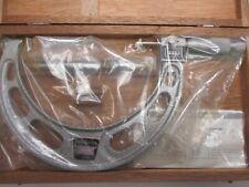 New Scherr Tumico 5 6 Od Mechanical Digital Outside Micrometer0001 Wood Box