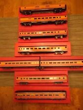 SOUTHERN PACIFIC BRASS (8) CAR DAYLIGHT SET by SOHO CUSTOM PAINTED HO SCALE
