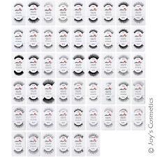 """12 AMOR US 100% Human Hair Fake Eyelashes """"Pick Your 12 Type""""  *Joy's cosmetics*"""