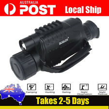 5x40 Zoom 200m Monocular Hunting Camera IR Night Vision Scope Video Record 8g AU