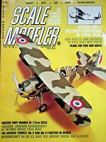 Vtg Scale Modeler Magazine September 1975 Curtiss SBC-4 Helldiver Conversion m93