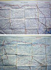 Fliegerkarte Silk Map von Bucuresti (Rumänien) und Lublin (Polen) 1:1.000.000