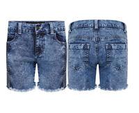 Womens Girls Denim Jeans Short Biker Stylish Sexy Dress Hot Pant size 8 - 16