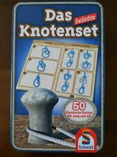 Schmidt Spiele Reisespiel  Das beliebte Knotenset 51427  Metall Dose Knoten