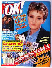 Ok ! âge tendre n°681; Patricia Kaas/ Gérard Blanc