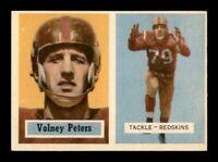 1957 Topps Set Break # 84 Volney Peters NM *OBGcards*