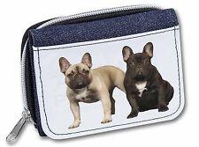 French Bulldog Girls/Ladies Denim Purse Wallet Christmas Gift Idea, AD-FBD1JW