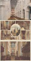 THREE    X   NORWICH  CATHEDRAL  Postcards    NORFOLK    (  HR2  )