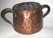 ANCIEN POT EN CUIVRE MAGHREB OLD COPPER JAR Pote de cobre Topf in Kupfer