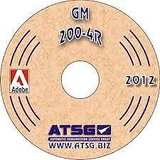 ATSG 54400B 1980-89 GM THM 200-4R Transmission Manual Mini CD