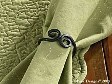 Napkin Rings Set of 6 Iron knotted