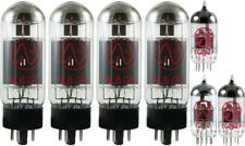 Tube Set - for Fender Bassman 100 JJ Electronics APEX Matched Power Tubes