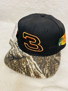 VTG NWT Dale Earnhardt #3 Realtree Xtra Camo GM Goodwrench Bass Pro NASCAR Hat