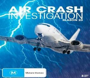 Air Crash Investigations : Complete Season 20 (DVD) UK Compatible - preorder