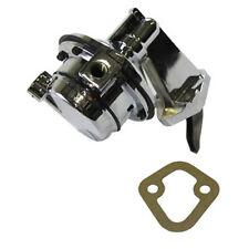 Chrome Mechanical Fuel Pump Big Block Chrysler V8 361 383 413 426 440 80GPH