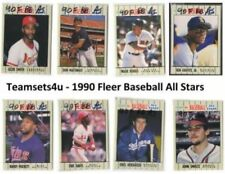 1990 Season Set Baseball Trading Cards