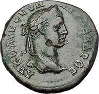 SEVERUS ALEXANDER 222AD Marcianopolis NEMESIS Original Ancient Roman Coin i50940