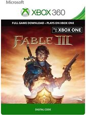 Fable 3 III Full Game Download Code Card Microsoft Xbox 360 Live REGION FREE - 2