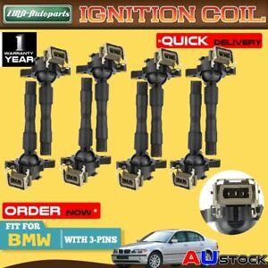 8Pcs Ignition Coils for BMW 3 5 7 Series E31 E38 E39 E46 E52 E53 M5 X5 Z8 95-03