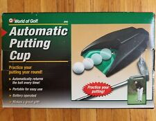 Golf Indoor Automatic Putting Cup World of Golf Practice Your Putting