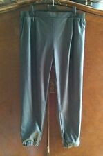 River Island Faux Leather Mid Rise Trousers for Women